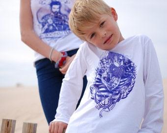 Children longsleeve sailor Bosse
