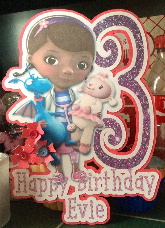 Doc Mcstuffins Birthday Card Doc Mcstuffin Birthday Disney