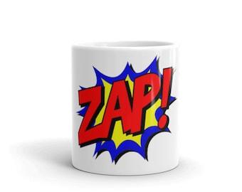 Mug, Coffee Cup, Zap, Drink, Cup, Super Hero