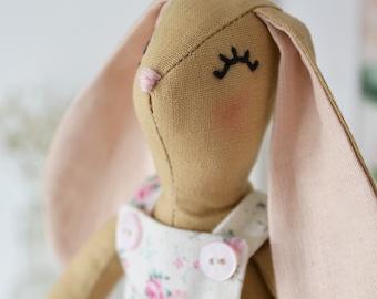 Little Petal Bunny Heirloom Animal Doll