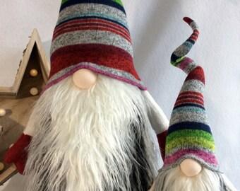 Scandinavian Jumbo size Gnome Nordic Nisse Woodland Swedish Tomte decoration  DaVinciDollDesigns Original Collection©