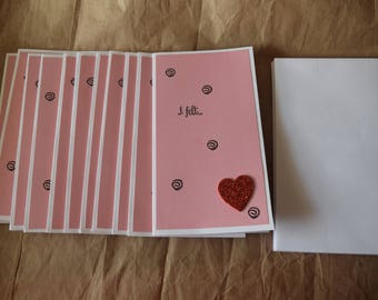 Heart Cards - 12-pack
