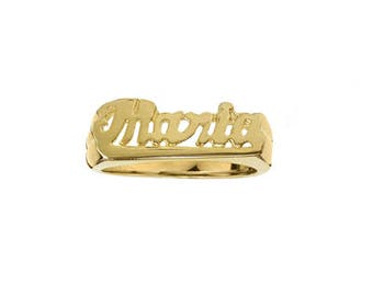 "Personalized Name Ring ""Maria"""