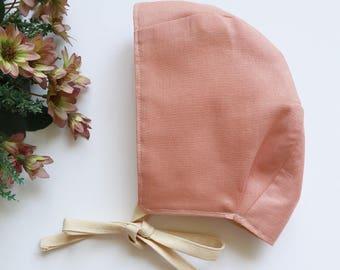 Brimless Baby Bonnet / Custom / Pick Your Fabric /Handmade
