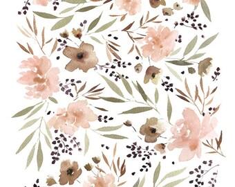 Spring Floral - 11X14 Art Print
