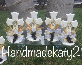 First Holy  Communion or Baptism  Centerpiece for your party.