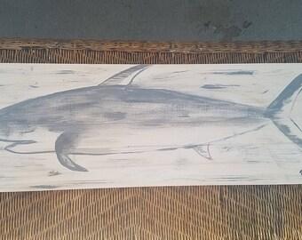 Shark on wood