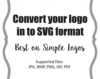 Logo convert to SVG or Studio3