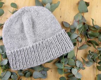 Scandinavian hygge style hat | Chunky wool | Easy and fun to make | Beginners beanie – KNITTING PATTERN