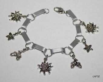 Edelweiss Bracelet aluminum jewelry