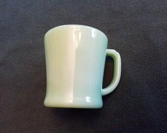 Vintage (22) available Fire King fireking restaurant Jadeite jadite D handle coffee mug cup EUC