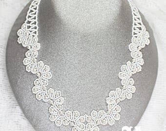 SugarLace Necklace Tutorial