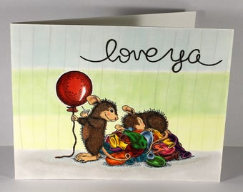 Love Ya - Valentine's Day Mouse Prank