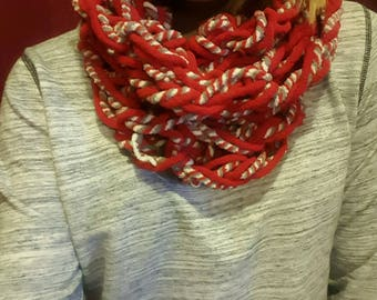 Arm Knitted Cowl