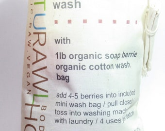 Soap Berries Organic Laundry Wash - 1lb