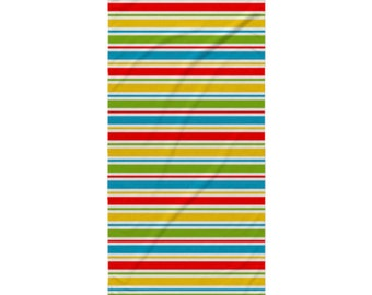 School Beach Towel - Style 10 - Colorful Stripes