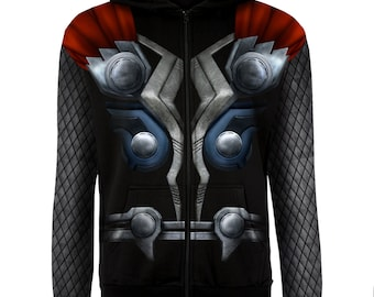 50% Off This Week Only - Thor Hoodie or Shirt (Casual Thor Costume) IRON ON TEMPLATE