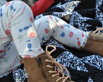 Holiday Candy Leggings