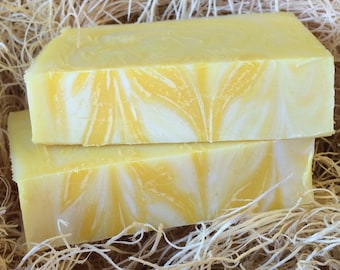 Lemongrass Scent, Handcrafted Soap
