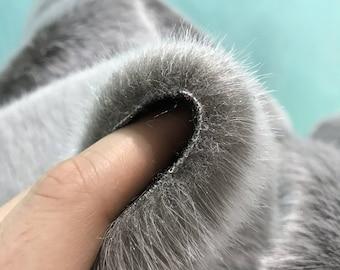 KOALA - Faux (fake) Fur - Full METRE (140x100)