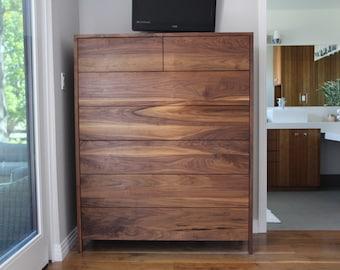 American Modern 7 Drawer Dresser