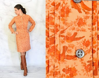 Betty 1970s does 1950s Shirt Dress Size XS Extra Small
