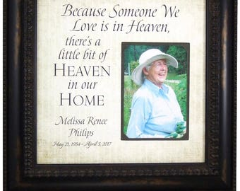In Memory Of Mom, Remembrance Gift, Wedding Memorial, In Memory of Dad, bereavement gift, memorial gift, 16X16