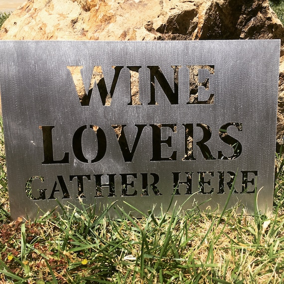 Wine Lovers Gather Here