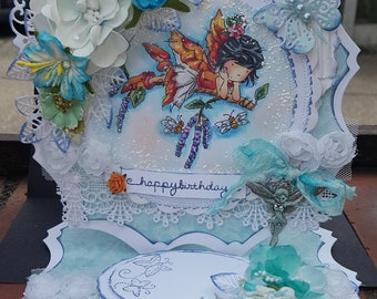Fairy easel card - Can be personlised