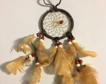Mini Traditional Native American Dreamcatcher