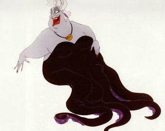THE LITTLE MERMAID original production Ursula the Sea Witch model sheet