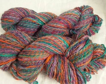 Handspun Wool Yarn CC18/508