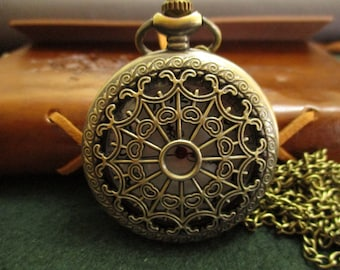 Watch with cobwebs, steampunk watch, steampunk clock, Cobwebs clock
