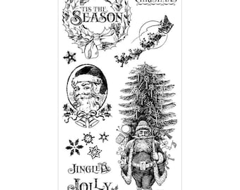 Graphic 45 Cling Stamps - St. Nicholas 1