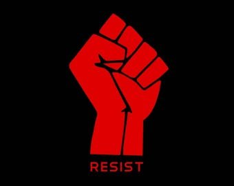 25 Pack of Resist Stickers - Resistance