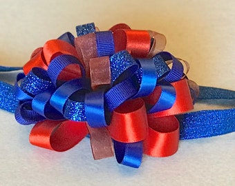 Baby Headband Loop Bow