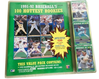 1992 Score Baseball Rising Star 100 Card Factory Set