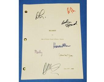 The Sandlot Movie Script 1993 Signed James Earl Jones, Denis Leary, Karen Allen + more