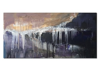 Abstract Painting, Original Painting, Oil Painting, Canvas Painting, Wall Art, Abstract Art, Large Art, Abstract Painting, Black and White
