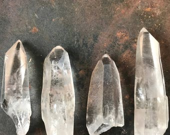 Lemurian Quartz Point, Pick Your Point, Wire Wrapping, Stocking Stuffer, Lemurian Quartz, Brazilian Quartz, Healing Crystal, Natural Crystal