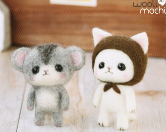 Ninja Kitten & Hamster Needle Felting Kit