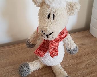TO order plush sheep Fyll crochet