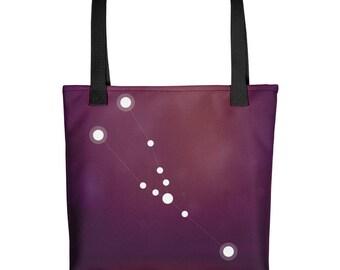 Tote bag - Zodiac Taurus Constellation Tote Bag