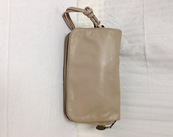 Stone Mountain leather purse,bag, Tan Leather, Shoulder Bag