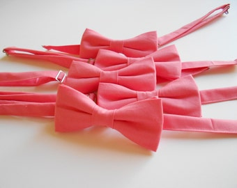 Coral Bowtie - Men's, Teen, Youth                   2 weeks before shipping