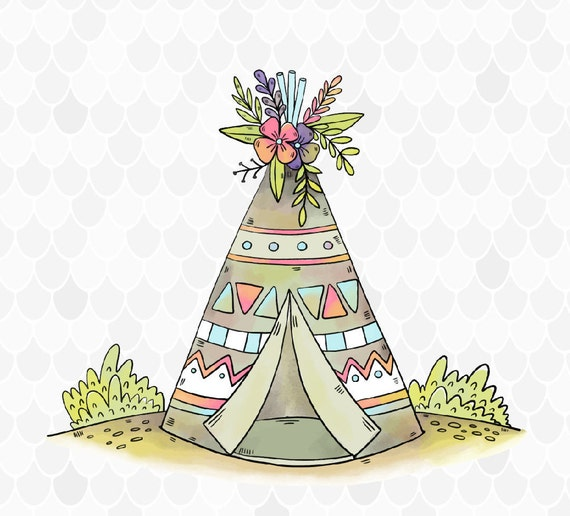 Image result for teepee clipart