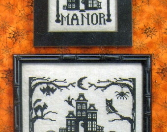 Midnight Manor by Waxing Moon Counted Cross Stitch Pattern/Chart