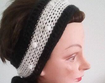 Handmade headband ear warmer