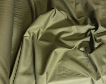 High quality cotton lawn dyed in Japan. khaki no13