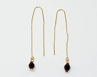 All Guaranted 14k Gold Filled  Threader Earrings/ Free Sipping in the US!